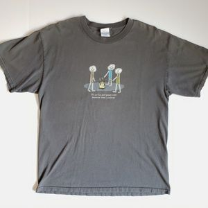 Its All Fun & Games Loses A Weiner Camping Tee